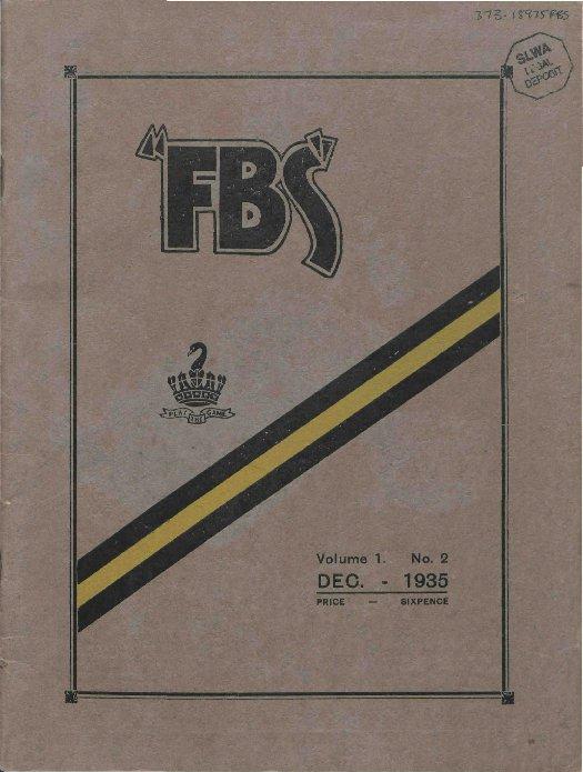 FBS_Vol_1_no_2_December_1935