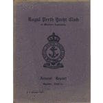 Royal Perth Yacht Club of Western Australia Incorporated records