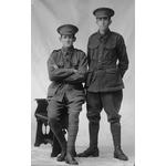108180PD: E.N. Touzer & H.J. Armstrong, 1914-1918