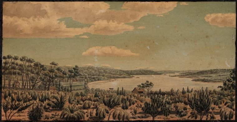 4001B/2 Painting of Augusta by Thomas Turner (Click to Start Zoom)