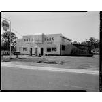 Shell Park Service Station, Yarloop proprietor L.A. Kennewell, 1956