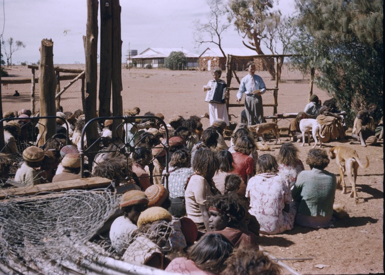 231511PD: Mervyn & Joy Young, Warburton Mission, 1958-1961 (Click to Start Zoom)