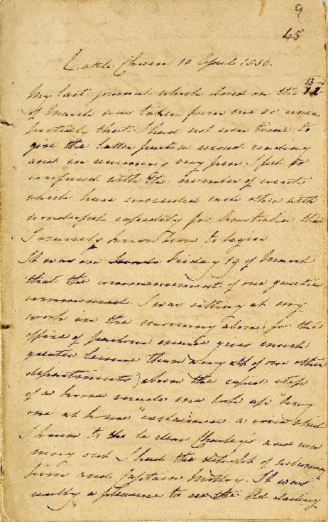 Acc 6926A/9 : Diary Apr - Dec 1836