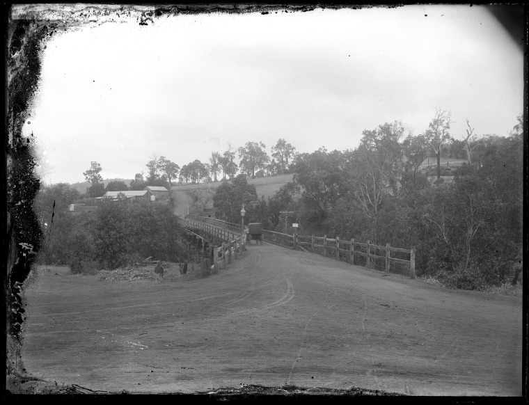 229177PD: Bridge over the Blackwood River, Bridgetown, 1912 (Click to Start Zoom)