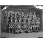 229233PD: Group portrait of soldiers at the Northam Army camp, Western Australia, 1940.