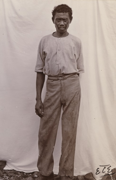 BA338/1/113: Javanese cook in the North West, 1900 (Click to Start Zoom)